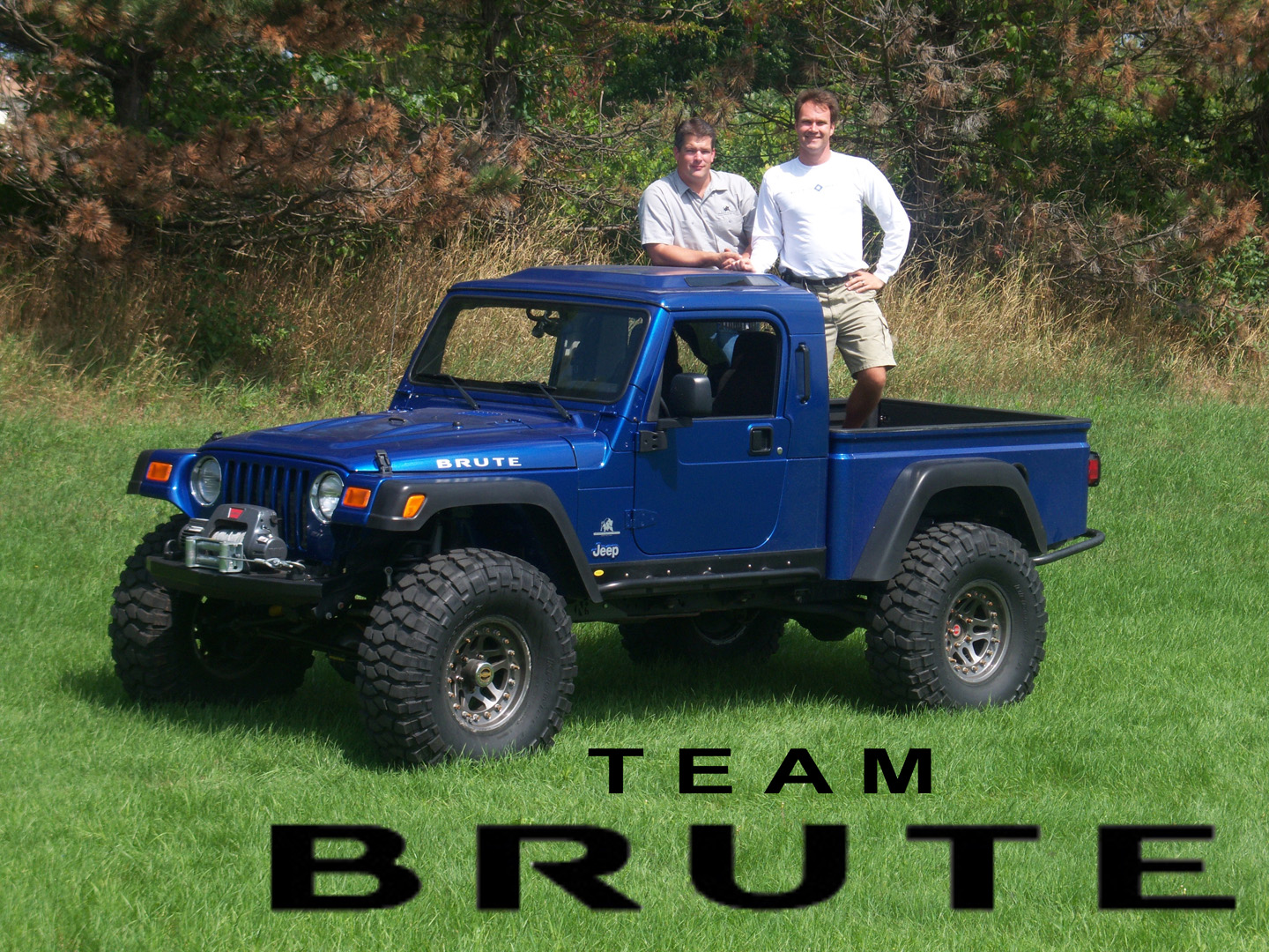Jeep Brute Single Cab >> omurtlak76: jeep truck conversion
