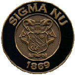 Sigma Nu fraternity challenge coin by Greek Challenge Coins